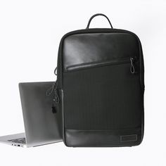 """Leather Laptop Backpack School Travel Bag For 14"""" 15.4"""" 15.5"""" 15.6"""" Notebook Bag for Macbook Lenovo HP ASUS Samsung Computer Price: USD 69.99   United States"""