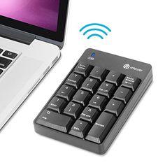 iClever Pavé Numérique 18 Touches Clavier Numérique pour Tablette, PC, Mac, Noir: Amazon.fr: High-tech