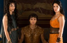 The hits and myths of the ancient immortals soap it up the new Syfy drama #Olympus.