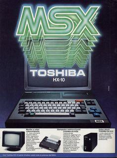Toshiba HX-10 Computer Ad.