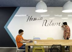 Whiteboard wall - The New Cisco San Francisco Offices Feature Wooden Pavilions & Sunken Seating Areas