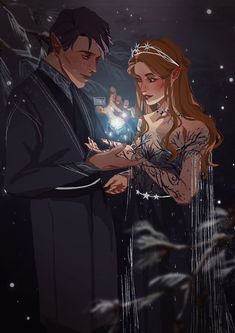 A Court Of Wings And Ruin, A Court Of Mist And Fury, Throne Of Glass, Fanart, Character Inspiration, Character Art, Roses Book, Feyre And Rhysand, Sarah J Maas Books