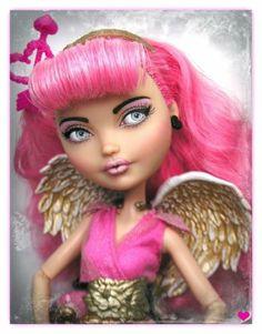 Love OOAK Ever After High C A Cupid Doll Art Repaint by Pamela Reasor | eBay