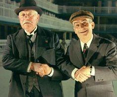 Louis de Funès et Jean Gabin www.autourdelouisdefunes.fr