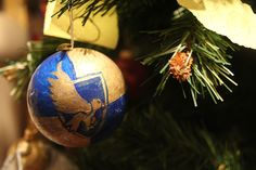 Ravenclaw Christmas ornaments