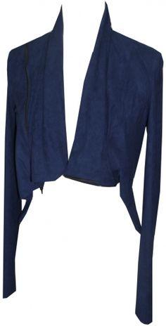 Convertible easy fit short jacket w/ front zipper& Berlin, Suede Shorts, Blue Fashion, Workout Shorts, News Design, Convertible, Harem Pants, Brand New, Zipper