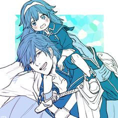 Chrom and widdle lucina,  so cuuuteeee >/////<