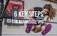 Bar Muscle Ups. For roughly a year or so, just the mention of them had me (Kait) nearly running out the door of the gym. But if you're new to the movement, don'