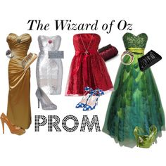 """The Wizard of Oz Prom"" by millie-alice on Polyvore"