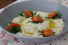 A middle eastern classic! Amani's recipe for mutabal.