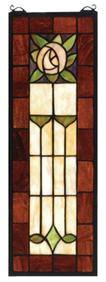 Pasadena Rose Stained Glass Window