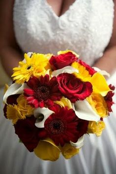 The Bride Chose Red Yellow And White For Her Wedding Reception At Cavalier On Hill She Had Always Dreamed Of Celebrating Mar
