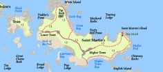 Saint Martin's Circular Island, Day, Block Island, Islands