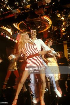 1978 Every dancing queen needs a belted striped mini dress to let out her inner disco diva, right? - Provided by Marie Claire At The Disco, Moda Disco, 1970s Disco, Trajes Business Casual, Chic Business Casual, Casual Office, Business Outfits, 70s Fashion, Vintage Fashion