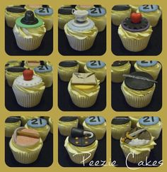 Once upon a time themed cupcakes
