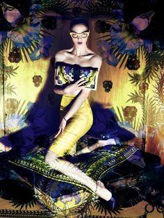 Givenchy F/W 11   Mariacarla Boscono   Mert Alas and Marcus Piggott