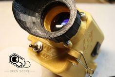 3D Printed Digital Night Vision (The OpenScope) 3D Печатный Цифровые приборы ночного видения (The OpenScope)