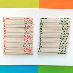 Multiplication Puzzles: Modify to suit your grade level