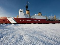 Coast guard ice breaker