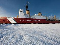 Coast guard ice breaker
