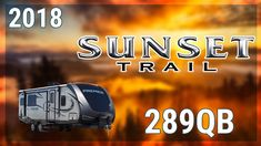 2018 Crossroads Sunset Trail Super Lite 289QB Travel Trailer RV For Sale TerryTown RV Superstore Check out 2018 Sunset Trail Super Lite 289QB now at http://ift.tt/2gvYvsD or call TerryTown RV today at 616-426-6407!  When you need an open floor plan with room for the whole family you need a new 2018 Sunset Trail Super Lite 289QB. Find yours today at TerryTown RV Superstore!  This model is a double-axle travel trailer with 6-sided aluminum construction one slide out radius rafter and a…