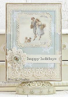 Mona Pendleton: Cupcake's Creations -merry christmas - 8/15/14