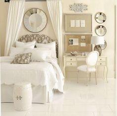 Ballard Design.  Gray, white, silver