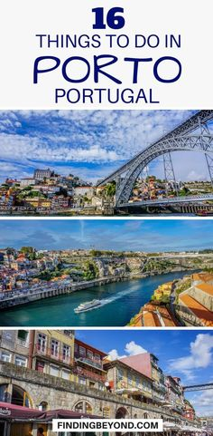 #Porto #portugal #travel #portotips #portoguides #portugalguides #portugaltips #portugalhighlights #bestofporto | What to do in Porto | Places to visit in Porto | Top things to do in Porto | #traveltips #traveleurope #thingstodo #visitporto #visitportugual | Must see things in Porto | #destination | Porto's Top attractions | Places to visit in Porto | Things to see in Porto