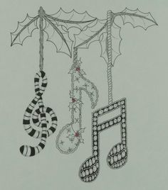 Tangled Music Notes