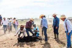 #bts photographer Jeremy Enlow tries his hand at #cowboylife