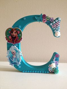 Anna and elsa frozen wooden letter https://www.facebook.com/Leannescrafts140711?ref=bookmarks