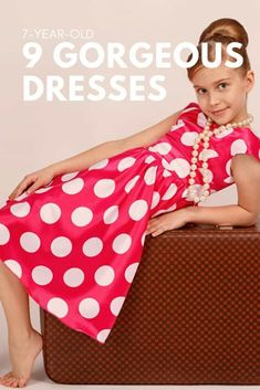 Have a 7 year old that loves all things fashion? Here are 9 great, gorgeous dresses for your little girls! Little Girl Outfits, Little Girls, Fashion Kids, Fashion Outfits, Kids Up, Old Dresses, Cute Outfits For School, 7 Year Olds, Children Style