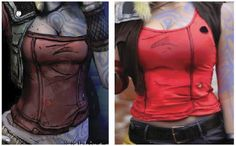 Chrix Design: Lilith Borderlands 2 - making the outfit
