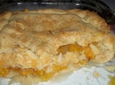 Peach Cobbler / Double Crust Recipe