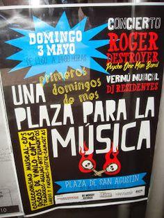 vendeloamazing: Domingo 3 de mayo, Una Plaza para la Música!!!