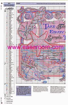 Grande raccolta di schemi e ricami per punto croce gratis, in grande formato, stampabili.