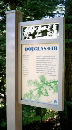 Custom Outdoor Signage | We create wayfinding systems & interpretive trails rich in detail ...