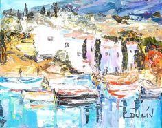 Water colors through oil. #Duaiv #ArtbyDuaiv #Painting