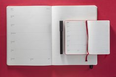 Ideal for students, teachers or anyone who still feels like the school year fits their mindset, Moleskine 18 month planners help you g Notebook Organization, Paper Organization, Organizing Ideas, Moleskine Weekly Planner, 18 Month Planner, Commonplace Book, Diary Planner, Visual Diary, Pen Holders