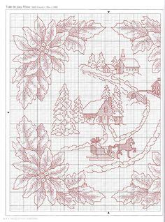 DMC Mini Kreuzstich Satz Weihnachten 16 Designs Weihnachtsmann,Schneemann,