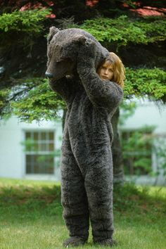Natassja Kinski/Susie the Bear.  If I had this outfit, I would wear it all winter long.