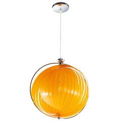 Orange Modern Kokoon Emily Hanging Lamp HL00140OR