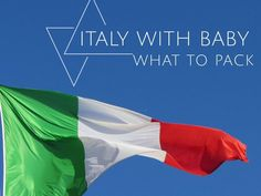 Travelling to Italy with kids? Your guide to what to pack – THE TOE OF THE BOOT