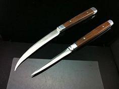 2pc Vintage Carving Knife Set Fruit Carving Tools Thai Knives Kitchen Vegetable >>> Click on the image for additional details.