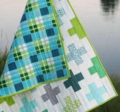 Plus quilt by @Allison Harris Cluck Cluck Sew