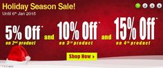 Holiday Season Sale. International Drug Mart is running its Holiday Offer & Sale through Jan 6, 2015.