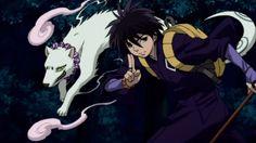 Madarao (Kekkaishi)...get someone to join me as Yoshimori.