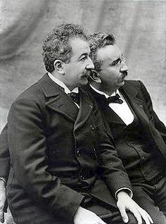 [SHOT]  The Lumière brothers, Auguste Marie Louis Nicolas (19 October 1862, Besançon, France – 10 April 1954) and Louis Jean (5 October 1864, Besançon, France – 6 June 1948)