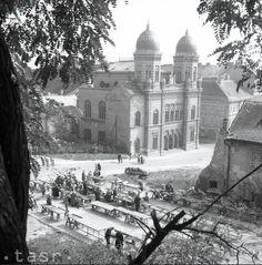 Synagóga pred zbúraním Bratislava, Old Building, Old City, Homeland, Old Photos, Taj Mahal, Photography, Travel, Outdoor