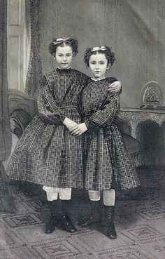 The Sisters, 1896 engraving by The Illman Brothers for Lady's Friend magazine